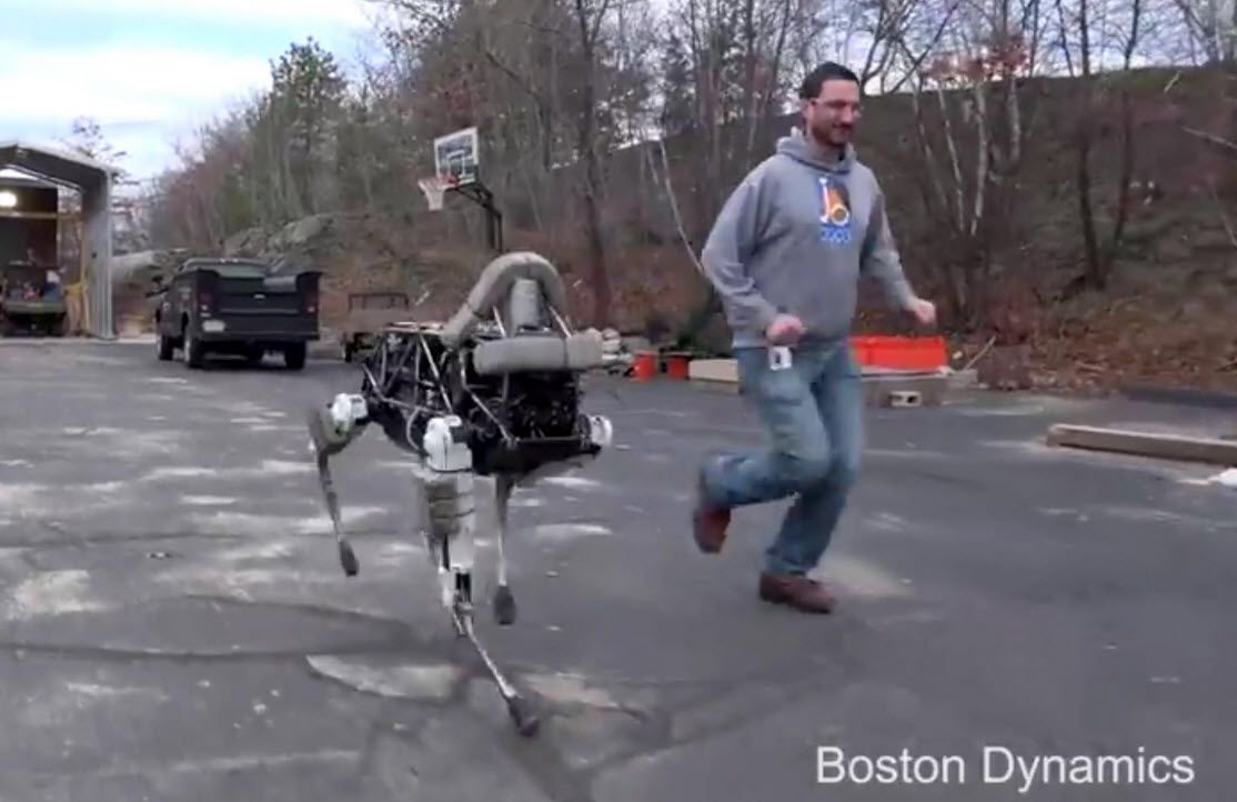Spot - czworonóg z Boston Dynamics