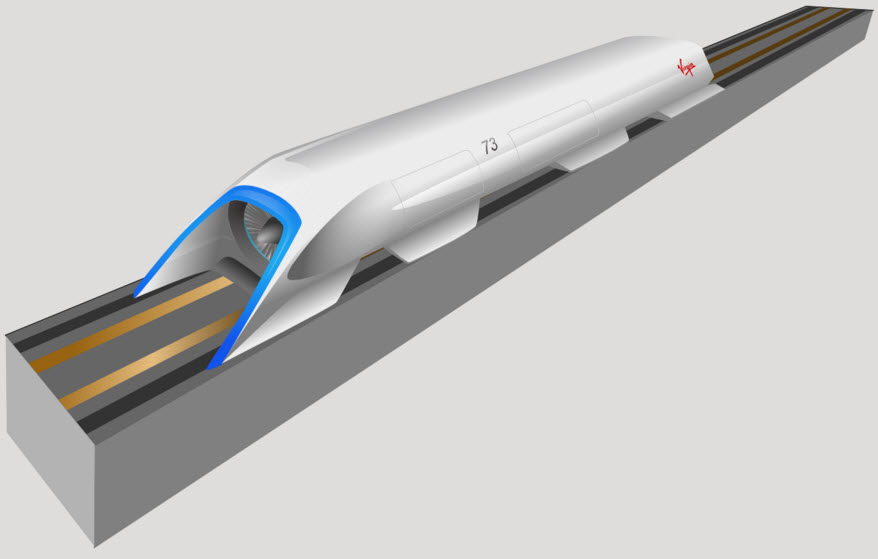 Testy Hyperloop w Las Vegas